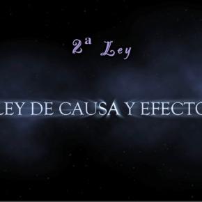 LEY DE CAUSA Y EFECTO (3/8)  LAS LEYESUNIVERSALES