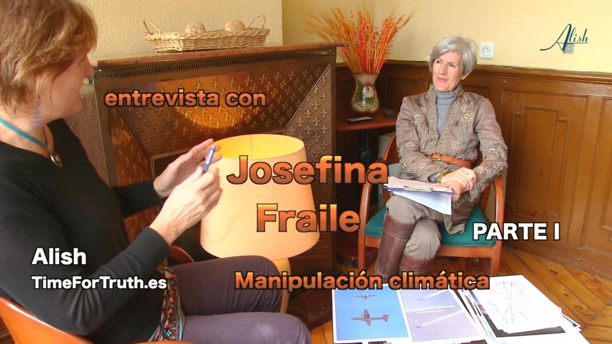 Entrevista Josefina Fraile - Manipulación climática o geoingeniería