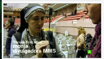 Teesa Forcadas es tildada de monja y divulgadora del MMS, callando que es médica y doctora en Salud Pública