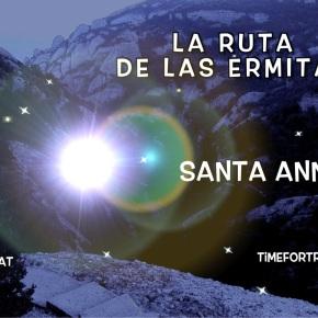 SANTA ANNA · 7/16 Ruta de las Ermitas enMontserrat