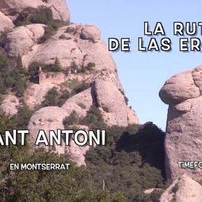 SANT ANTONI · 10/16 Ruta de las Ermitas enMontserrat