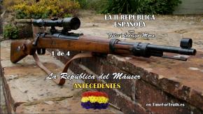 INVESTIGANDO LA SEGUNDA REPÚBLICA, antecedentes1/4