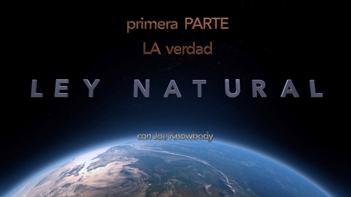 LEY NATURAL - La Verdad